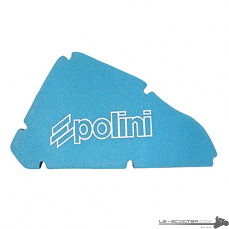 MOUSSE FILTRE A AIR SCOOT POLINI DOUBLE