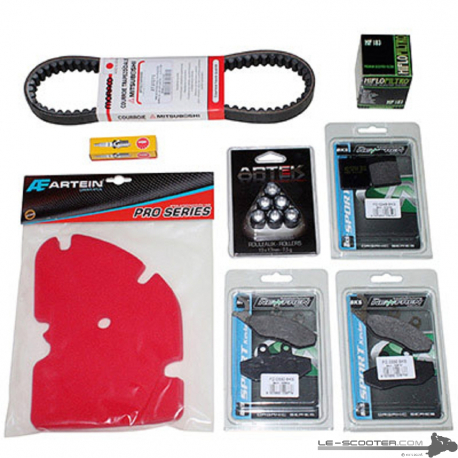 KIT ENTRETIEN MAXISCOOTER ADAPTABLE PIAG