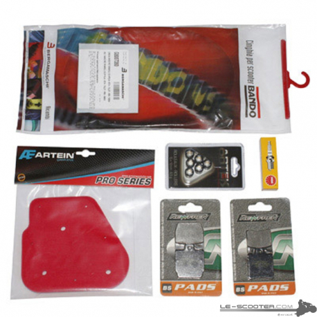 KIT ENTRETIEN SCOOT ADAPTABLE MBK 50 NIT